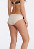 Plus Size Neutral Lace Panel Panty Set alternate view