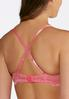 Plus Size Pink Azalea Lace Bra Set alternate view