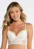 Navy And Ivory Lace Bra Set alternate view
