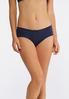 Plus Size Navy And Ivory Lace Panty Set alternate view