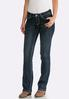 Petite Wing Pocket Bootcut Jeans alternate view