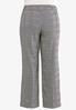 Plus Size Plaid Trouser Pants alternate view