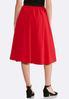 Plus Size Midi Party Skirt alternate view