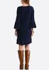 Chenille Bell Sleeve Sweater Dress alternate view