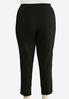 Plus Size Embellished Bengaline Pants alternate view