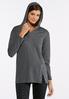 Pearl Slit Hooded Sweatshirt alternate view
