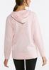 Pink Fleece Hooded Sweatshirt alternate view