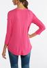 Plus Size Strength Waffle Top alternate view