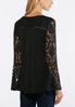 Lace Bell Sleeve Top alternate view