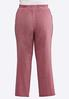 Plus Size Velour Side Stripe Pants alternate view