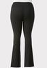 Plus Size Essential Black Yoga Pants alternate view
