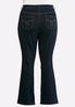 Plus Petite Dark Bootcut Jeans alternate view