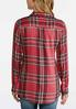 Plus Size Dotted Plaid Tunic alternate view