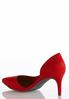 Faux Suede Pointed Toe Pumps alternate view