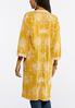 Plus Size Embroidered Duster Kimono alternate view