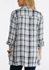 Plaid Pocket Front Tunic alternate view