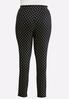 Plus Size Foiled Dotted Leggings alternate view