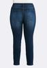 Plus Size Classic Dark Wash Jeggings alternate view