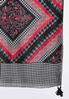 Houndstooth Print Oblong Scarf alternate view