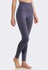 Plus Size The Perfect Blue Shadow Leggings alternate view