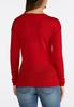 Plus Size Pointelle Pullover Sweater alternate view
