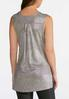 Sparkling Ribbed Tunic Tank alternate view