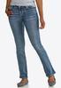 Petite Colorful Embellished Pocket Jeans alternate view