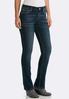 Petite Rhinestone Embellished Jeans alternate view