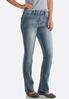 Petite Faded Embellished Jeans alternate view