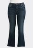 Plus Petite Rhinestone Embellished Jeans alternate view
