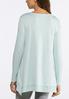 Plus Size Asymmetrical Sweatshirt alternate view