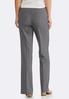 Pull- On Charcoal Trouser Pants alternate view