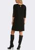 Plus Size Breezy Trim Sleeve Dress alternate view