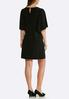 Plus Size Flare Sleeve Dress alternate view