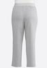 Plus Size Gray French Terry Pants alternate view