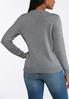 Plus Size Penguin Antler Sweater alternate view