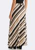 Striped Hacci Maxi Skirt alternate view