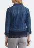 Plus Size Essential Blue Denim Jacket alternate view