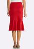 Red Flounced Skirt alternate view