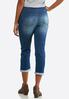 Flattering Skinny Cropped Jeans alternate view