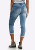 Shape Enhancing Skinny Cropped Jeans alternate view