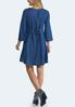 Embroidered Chambray Dress alternate view