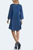 Plus Size Embroidered Chambray Dress alternate view