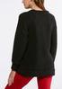 Plus Size Sequin Elfie Pullover Top alternate view