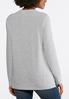 Plus Size Merry And Bright Sweatshirt alternate view
