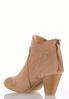 Wide Width Cone Heel Ankle Boots alternate view
