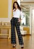 Plaid Belted Front Pants alternate view