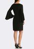 Plus Size Exaggerated Bell Sleeve Dress alternate view