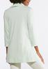 Plus Size Solid Cowl Neck Tunic alternate view
