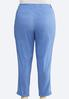 Plus Size Chino Ankle Pants alternate view